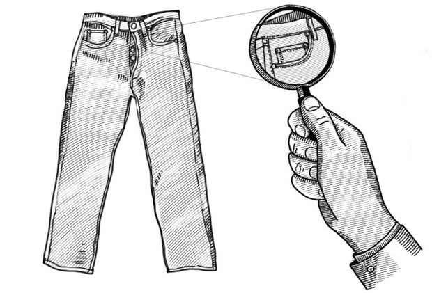 Внимание к деталям: Как появился маленький «пятый» карман на джинсах. Изображение №2.