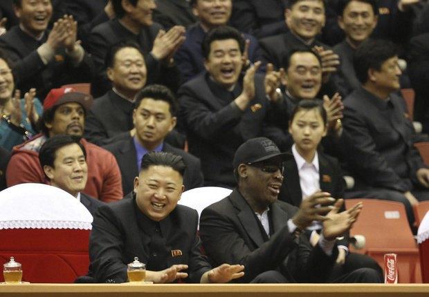 Деннис Родман станет тренером сборной КНДР по баскетболу. Изображение № 1.