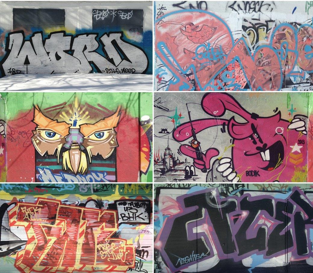 Стена славы: Граффити-карта Москвы. Изображение № 22.