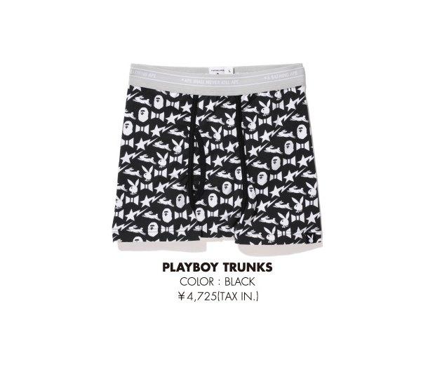 A Bathing Ape и Playboy представили совместную коллекцию одежды. Изображение № 23.