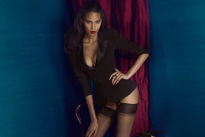 Модели Марлин Хоэк и Синди Бруна снялись в новой рекламе Agent Provocateur. Изображение № 2.