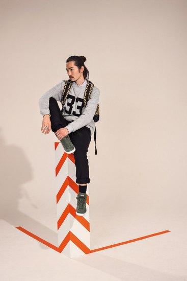 Марка Adidas Originals Blue Collection опубликовала осенний лукбук. Изображение № 10.