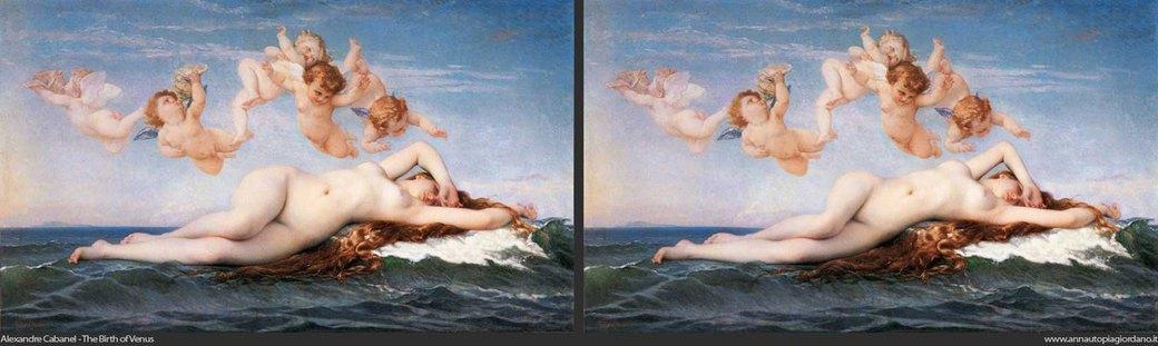 Венера как супермодель: Итальянка примеряет современные стандарты красоты на богиню любви. Изображение № 5.