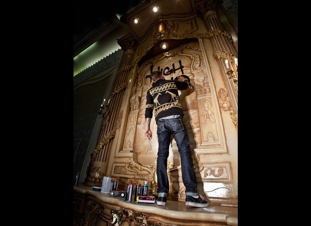 Рэпер Гуччи Мэйн снялся в лукбуке марки LRG. Изображение № 13.