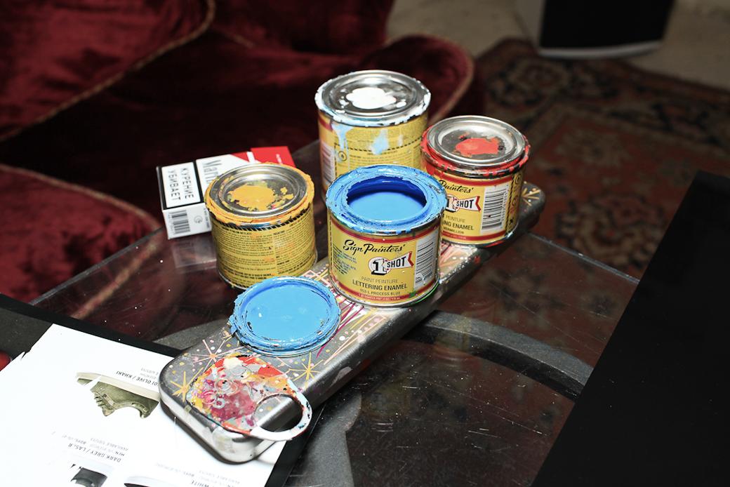 «Пинстрайпинг — это только ты, кисть и краска»: Интервью с художниками-кастомайзерами Freehand Store. Изображение № 8.