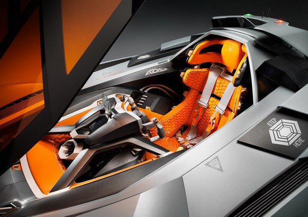 Lamborghini представили концепт одноместного суперкара Egoista. Изображение № 9.