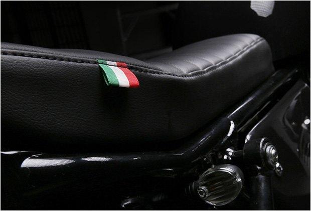 Стефан Вернье построил новый кастом на базе Moto Guzzi V7 Stone . Изображение № 6.