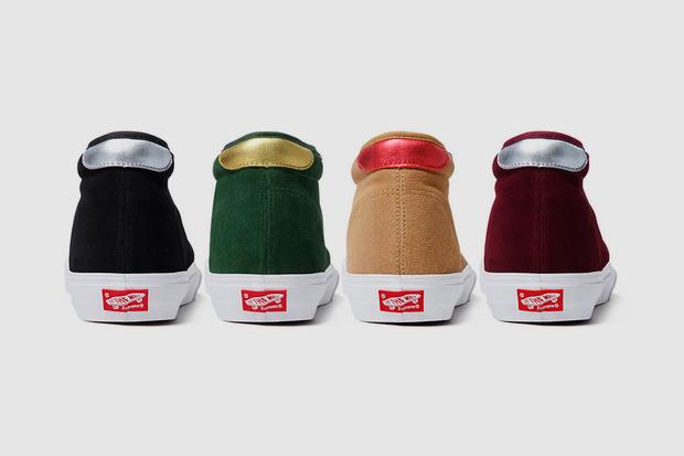 Марки Supreme и Vans выпустили совместную коллекцию обуви. Изображение № 10.