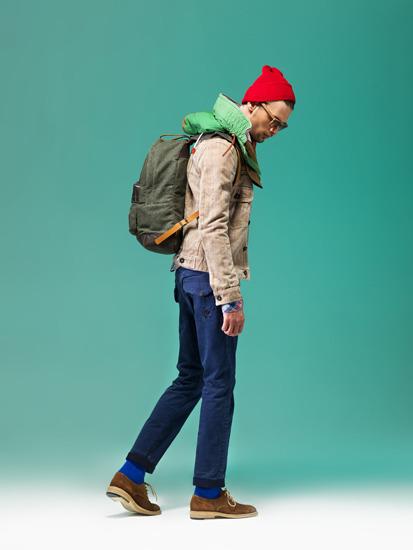 Марка Grunge John Orchestra. Explosion опубликовала лукбук новой коллекции одежды . Изображение № 12.