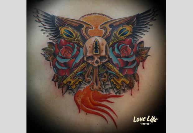 Избранные работы студии Love Life Tattoo. Изображение № 11.