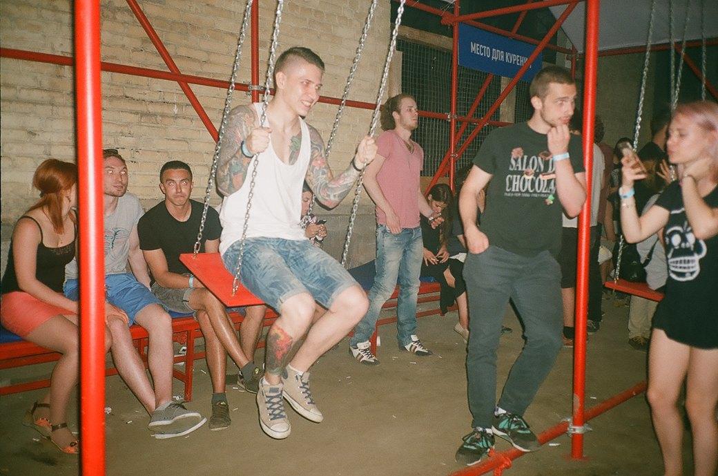 Фоторепортаж: Фестиваль Outline на Карачаровском механическом заводе. Изображение № 36.