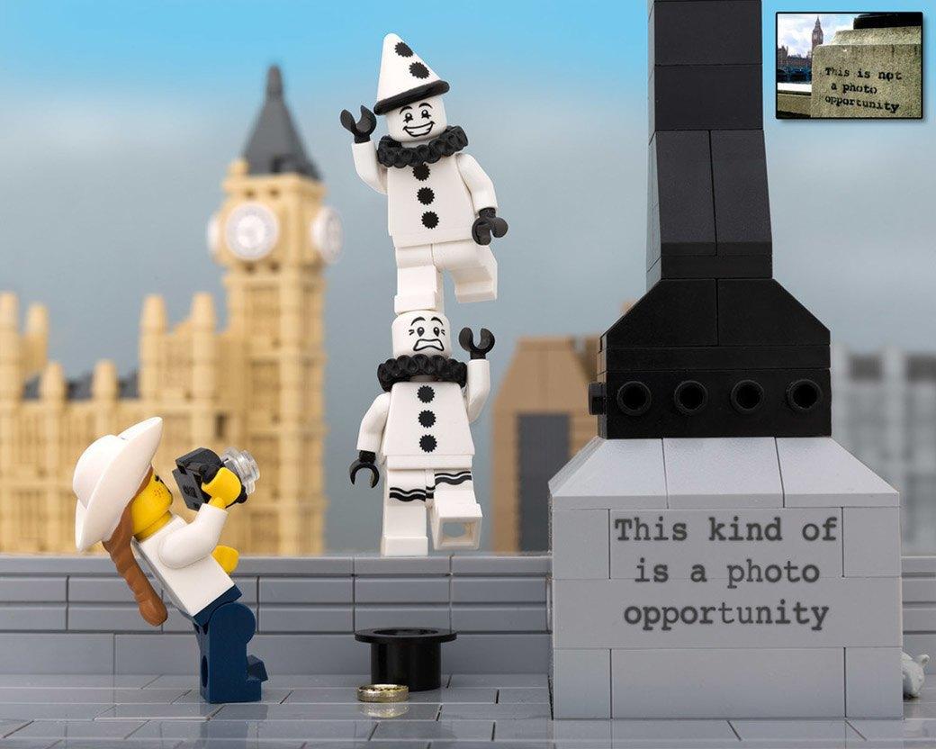 Bricksy: Работы Бэнкси из конструктора LEGO. Изображение № 14.