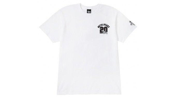 Марка Stussy поздравила лейбл Metalheadz с 20-летием выпуском футболок. Изображение № 9.