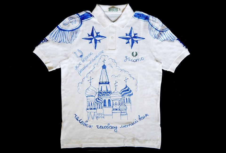 Коллекционная рубашка поло FURFUR и Fred Perry будет выставлена в Токио, Лондоне и Гонконге. Изображение № 1.
