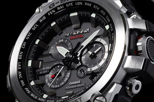 Марка Casio выпустила металлические часы G-Shock . Изображение № 4.