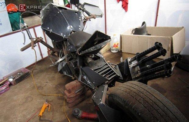Во Вьетнаме изготовили уже второй самодельный бэтпод. Изображение № 3.