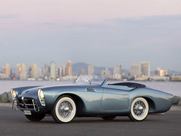Редкий испанский спорткар Pegaso Z-102 1954 года выставлен на аукцион. Изображение № 1.