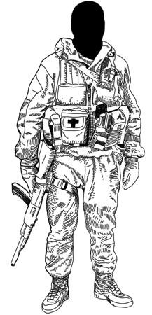 Прирожденные убийцы: Военная подготовка и оружие пяти самых сильных армейских подразделений мира. Изображение № 28.