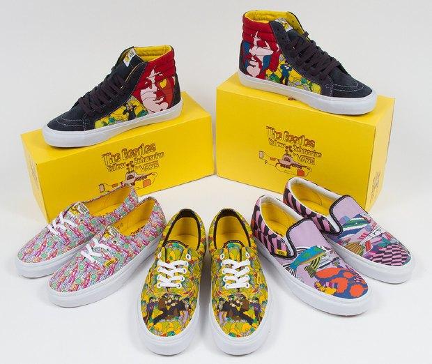 Vans выпустили кеды в честь мультфильма Yellow Submarine. Изображение № 1.