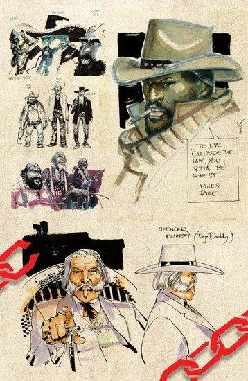 Вышли комиксы по фильму Тарантино «Джанго освобожденный». Изображение № 8.