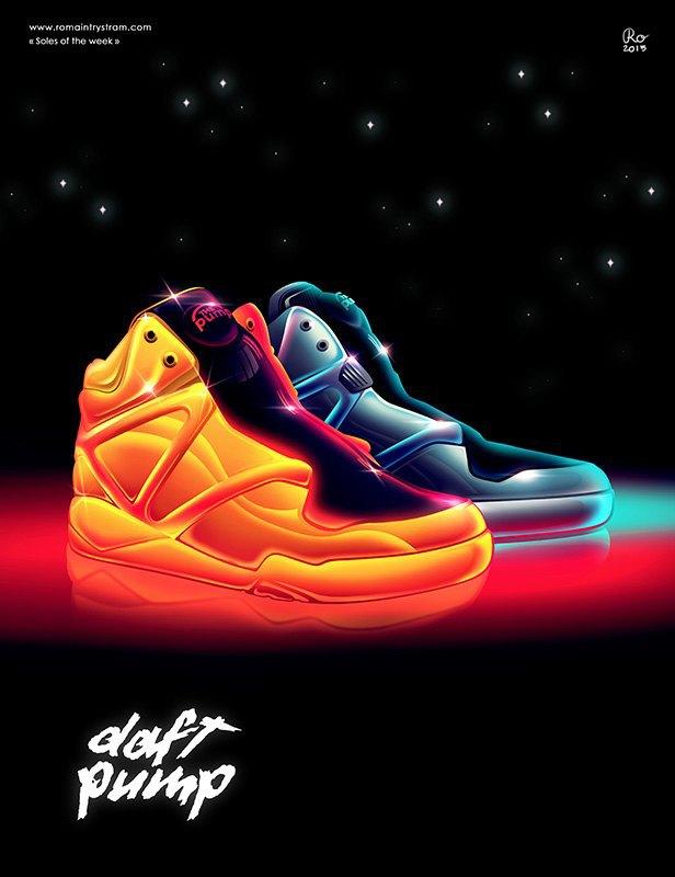 Сюрреалистический взгляд на кроссовки в проекте Sole of the Week. Изображение № 5.