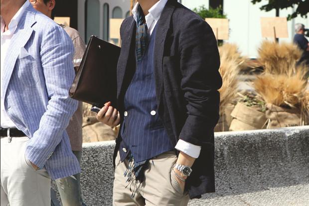 Детали: Репортаж с выставки мужской одежды Pitti Uomo. День второй. Изображение № 2.