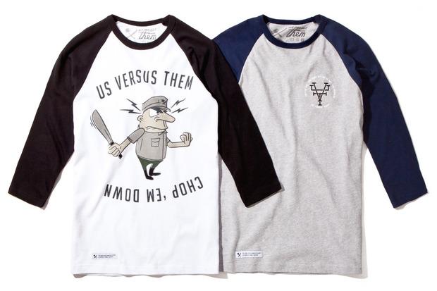 Американская марка Us Versus Them представила осеннюю коллекцию одежды. Изображение № 5.