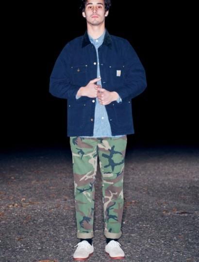 Американская марка Carhartt выпустила осеннюю коллекцию одежды. Изображение № 24.