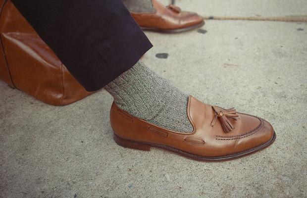 Как правильно носить лоферы с носками?. Изображение № 2.