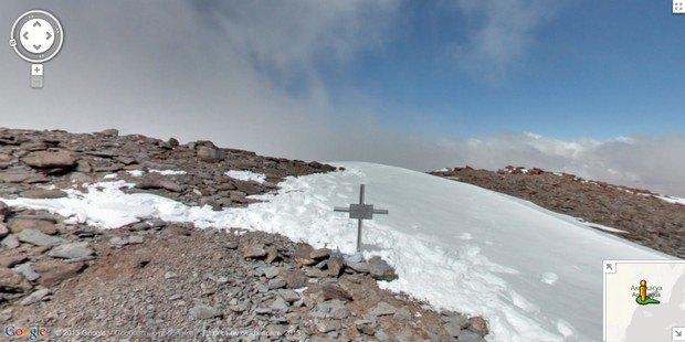 При помощи Google Street View теперь можно побывать на Килиманджаро, Эвересте и других вершинах. Изображение № 2.