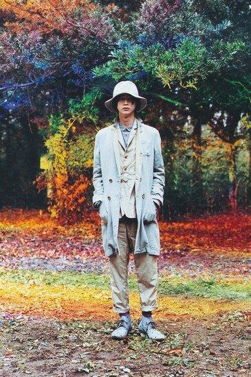 Японская марка Undercover опубликовала лукбук весенней коллекции одежды. Изображение № 2.