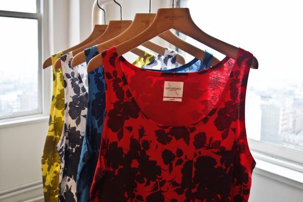 Американская марка Saturdays Surf NYC выпустила превью весенней коллекции одежды. Изображение № 4.