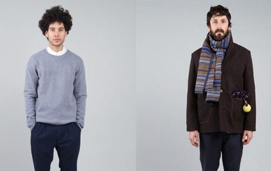 Шотландская марка Folk выпустила осеннюю коллекцию одежды. Изображение № 5.