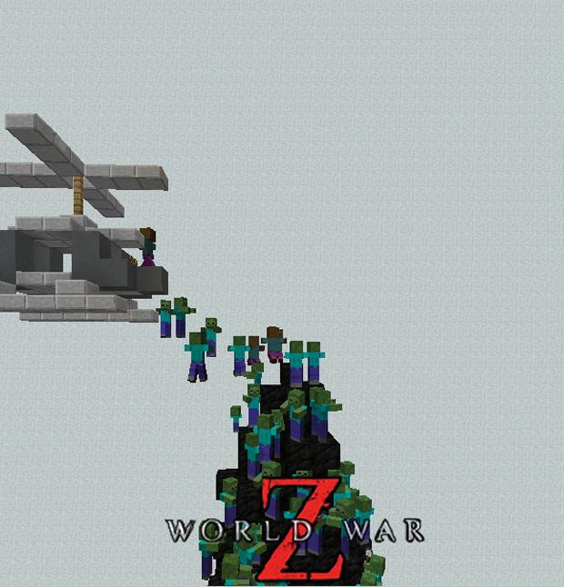 Режим «Творчество»: 25 кинопостеров, выполненных в стиле Minecraft. Изображение № 2.