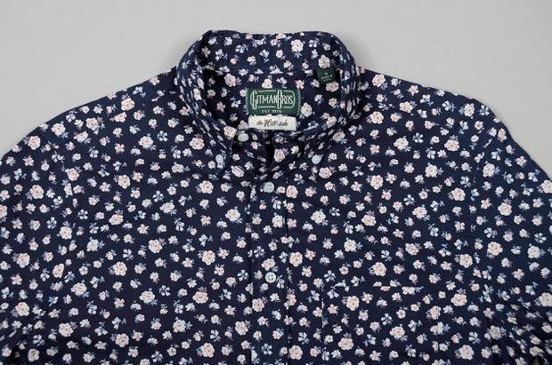 Марка Gitman Bros. представила новую коллекцию рубашек своей линейки Holiday. Изображение № 5.