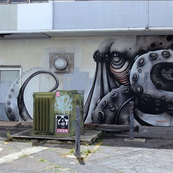 Гавайский фестиваль граффити Pow! Wow! в Instagram-фотографиях участников. Изображение № 3.