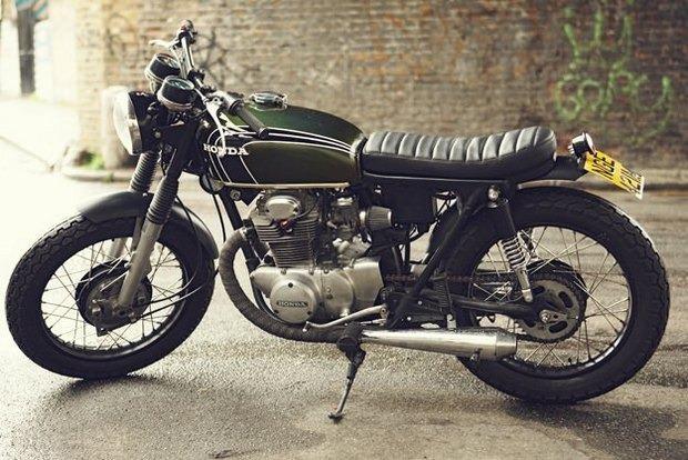 Английская мастерская Untitled Motorcycles представила каферейсер Honda CB350. Изображение № 1.