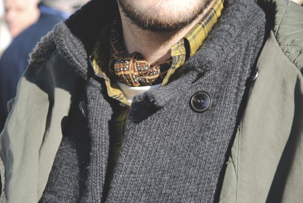 Детали: Репортаж с выставки мужской одежды Pitti Uomo. День первый. Изображение № 44.