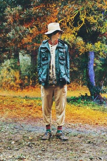 Японская марка Undercover опубликовала лукбук весенней коллекции одежды. Изображение № 1.