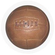Находка недели: Винтажный футбольный мяч. Изображение № 8.