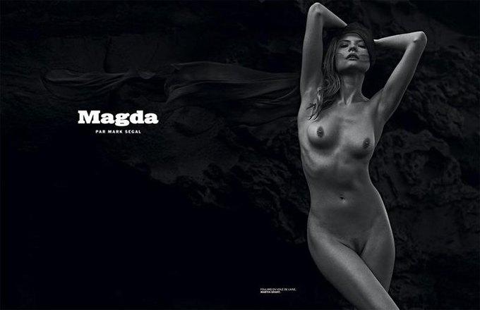 Марк Сегал сфотографировал польскую модель Магдалену Фраковяк для нового номера журнала Lui. Изображение № 1.