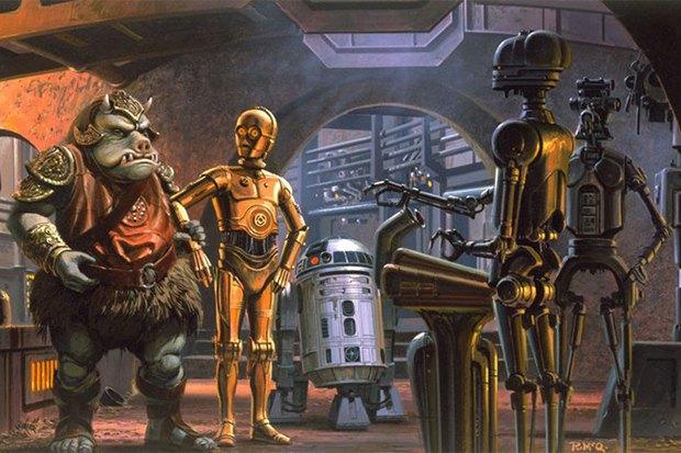 В сети появился оригинальный концепт-арт «Звёздных войн». Изображение № 9.