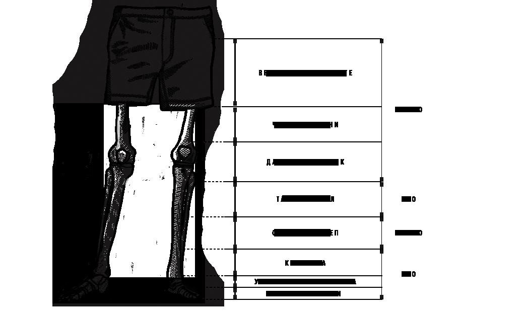 Какие носки надевать летом: Схема выбора длины и правила сочетания с шортами. Изображение № 4.