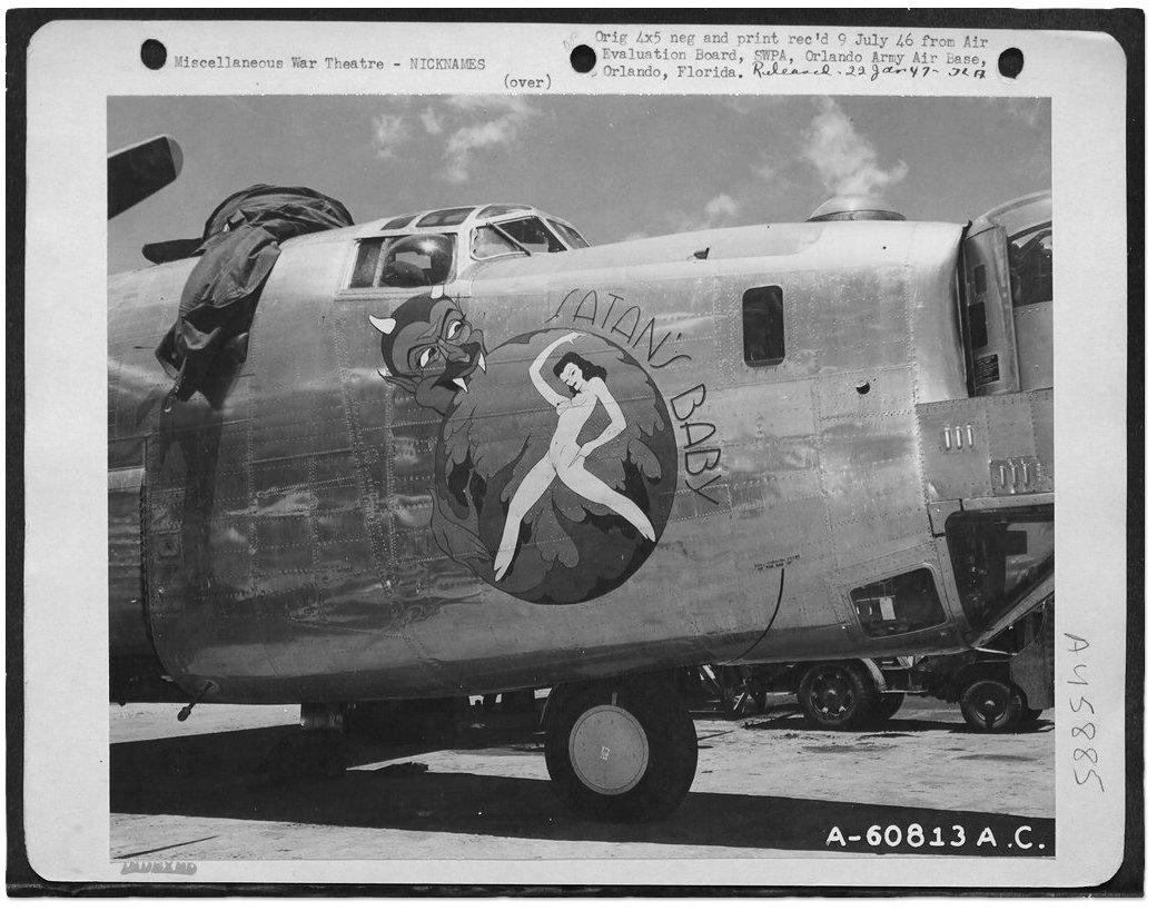 Рисунки на самолетах времен Второй мировой войны. Изображение № 2.