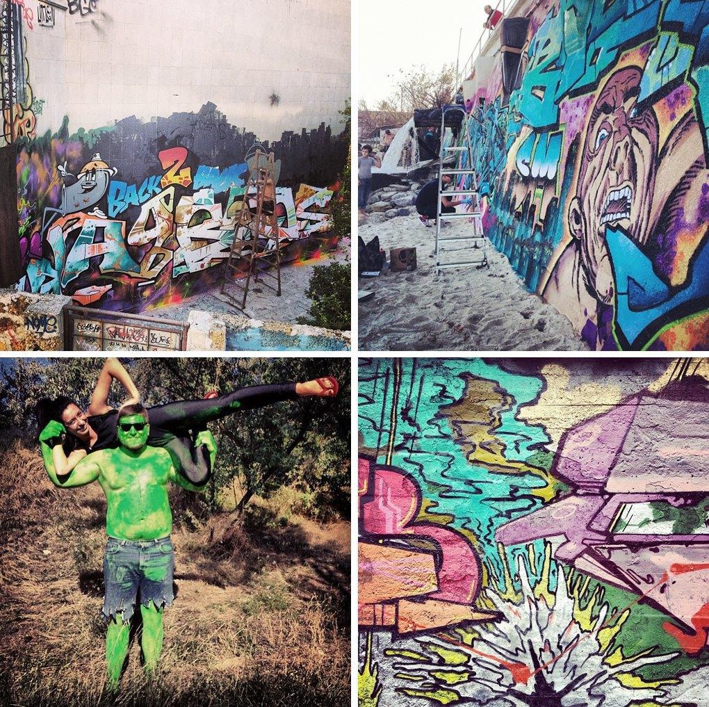 Что публикуют в своих Instagram российские граффити-художники. Часть вторая. Изображение № 6.