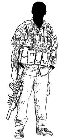 Прирожденные убийцы: Военная подготовка и оружие пяти самых сильных армейских подразделений мира. Изображение № 22.