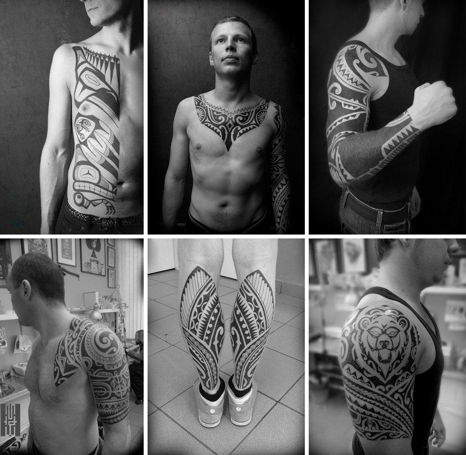 Бьет — значит любит: Старейшие татуировщики Москвы и их лучшие работы. Изображение № 20.