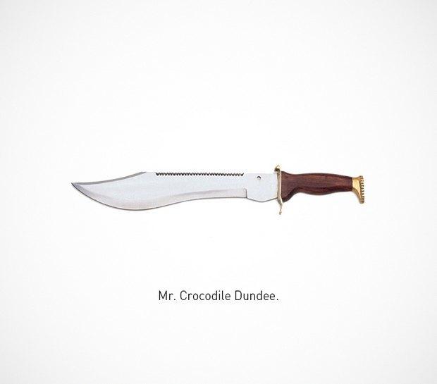 Итальянский дизайнер представил коллекцию ножей знаменитых персонажей. Изображение № 5.