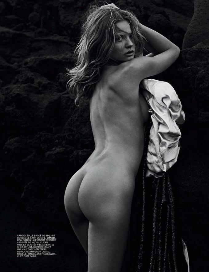 Марк Сегал сфотографировал польскую модель Магдалену Фраковяк для нового номера журнала Lui. Изображение № 5.