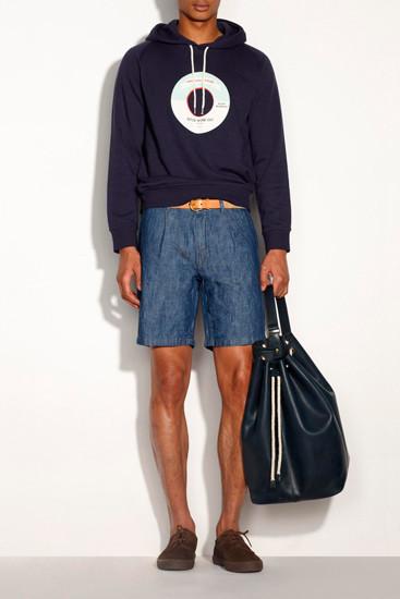 Марка A.P.C. опубликовала лукбук новой коллекции одежды. Изображение № 9.